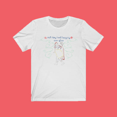 Snow Storybook Ending Short Sleeve Tee