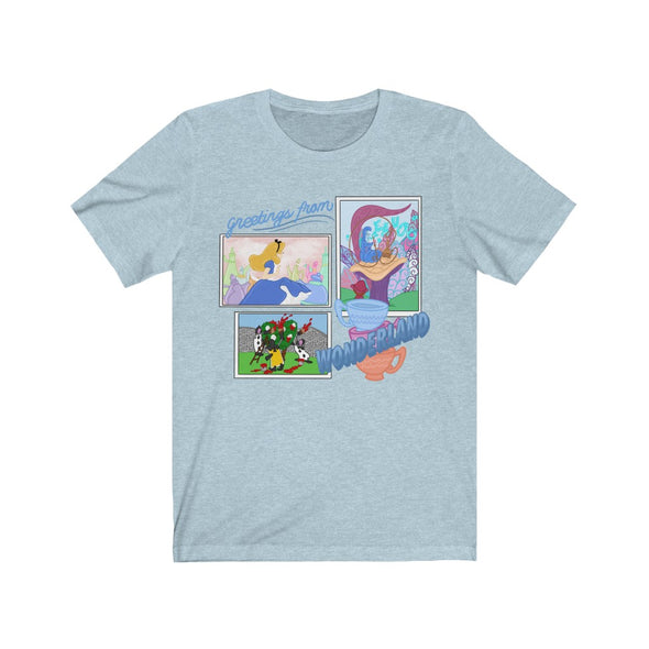Greetings From Wonderland Short Sleeve Tee