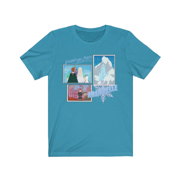 Greetings From Arendelle Short Sleeve Tee