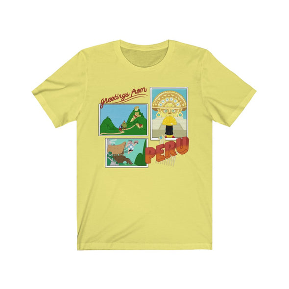 Greetings From Peru Short Sleeve Tee