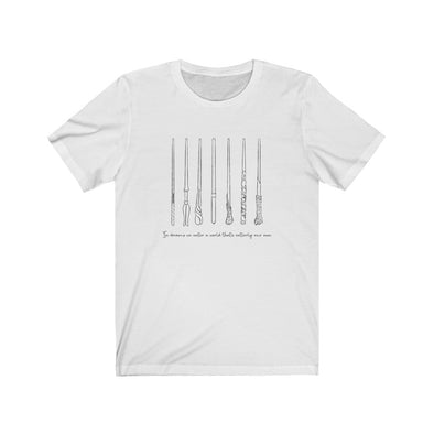 Wands Collage Short Sleeve Tee