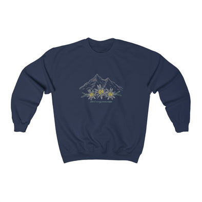 Climb Every Mountain Crewneck Sweatshirt