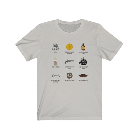 Pirates Collage Short Sleeve Tee