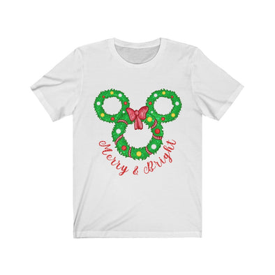 Merry Wreath Short Sleeve Tee
