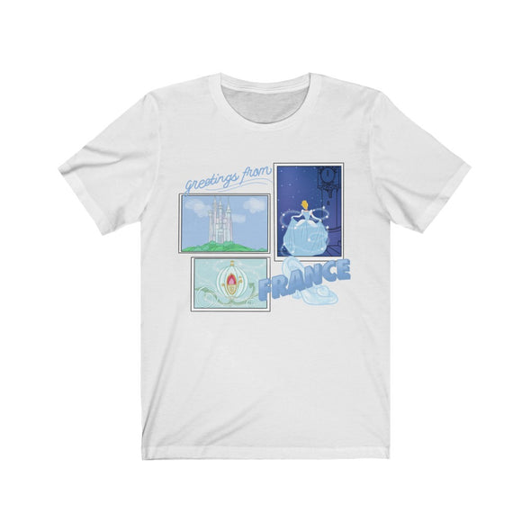 Greetings From France Short Sleeve Tee