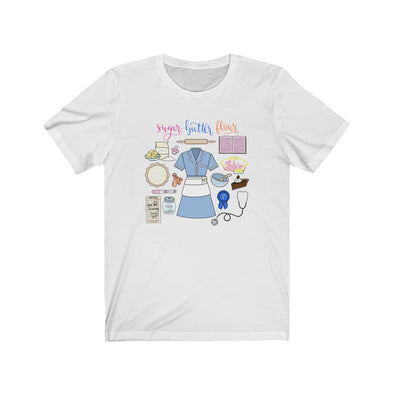 Waitress Collage Short Sleeve Tee