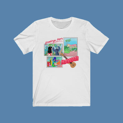 Greetings From Hawaii Short Sleeve Tee
