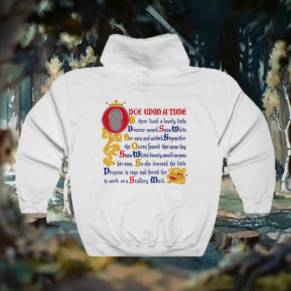 Snow Double Sided Hooded Sweatshirt
