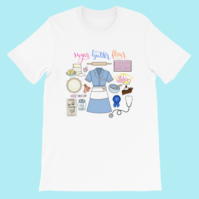 Waitress Collage/ T-Shirt