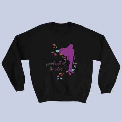 All The Colors Sweatshirt (black)