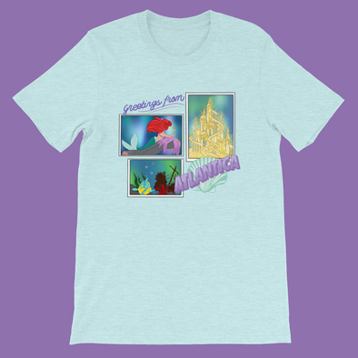 Greetings From Atlantica Short Sleeve Tee