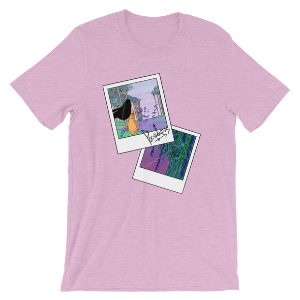 Pocahontas Polaroid Moments Unisex T-Shirt