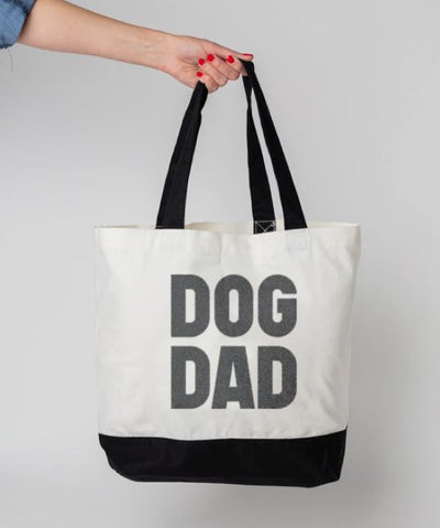 Bold 'Dog Dad' Tote Bag Tote Rover Store