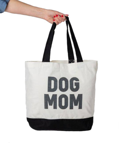 Bold 'Dog Mom' Tote Bag Tote Rover Store