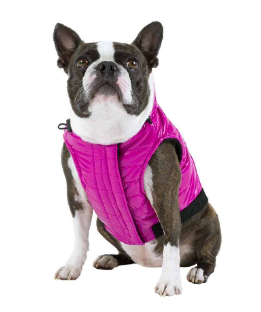 Canada Pooch Shiny Puffer Dog Vest (3 colors) Dog Apparel Canada Pooch 8 Pink