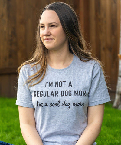 'Cool Dog Mom' T-Shirt Apparel Printed Mint