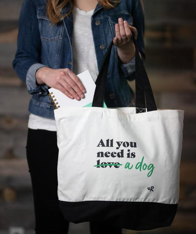 Dog 'All You Need' Tote Bag Tote Rover Store