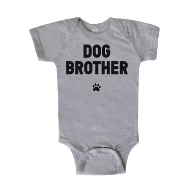 'Dog Brother' Baby Onesie Apparel Printed Mint