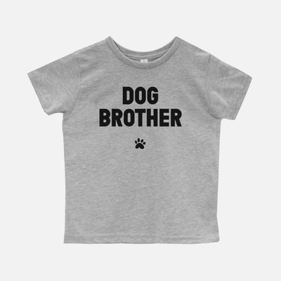 'Dog Brother' Toddler T-Shirt Apparel Printed Mint