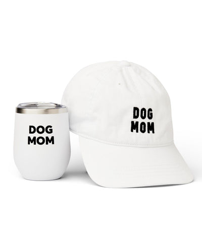 'Dog Mom' Hat & Insulated Tumbler Set Gift Set Rover