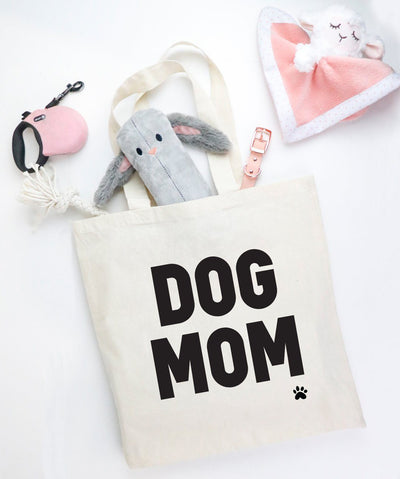 'Dog Mom' Tote Tote Printed Mint