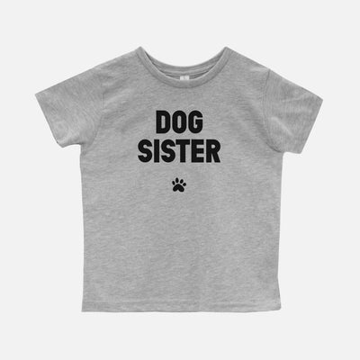 'Dog Sister Toddler T-Shirt Apparel Printed Mint
