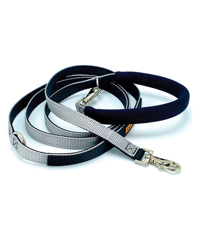 Dolan's Dog Doodads Cruiser Dog Leash (7 Colors) Leash Dolan's Dog Doo-Dads Grey 7' Leash