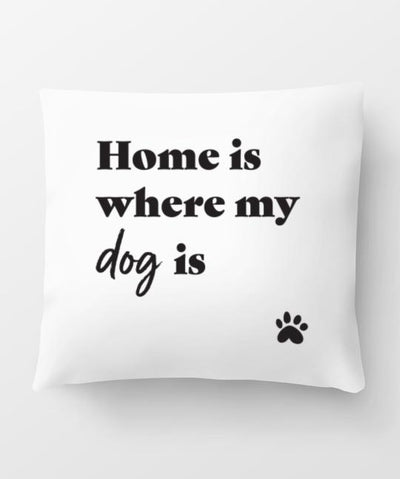 'Home Is Where' Pillow Pillow Rover Store
