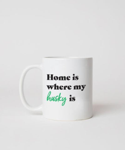 Husky 'Home Is Where' Mug Mug Rover Store