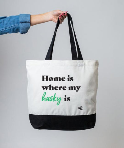 Husky 'Home Is Where' Tote Tote Rover Store