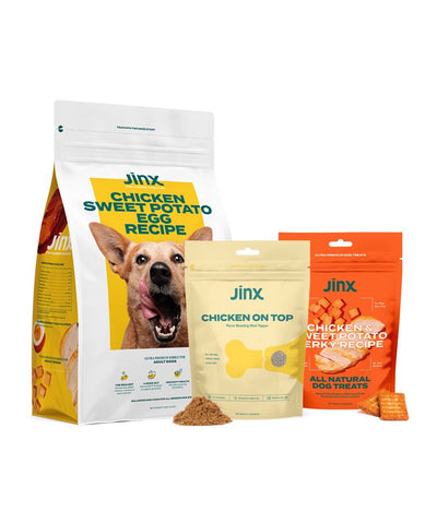Jinx Chicken Dog Food & Treats Best Sellers Bundle Dog Treats Jinx