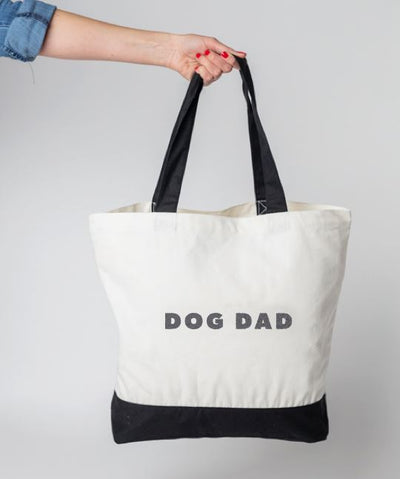 Modern 'Dog Dad' Tote Bag Tote Rover Store