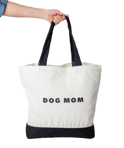 Modern 'Dog Mom' Tote Bag Tote Rover Store