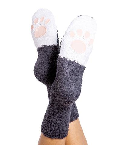 P.J. Salvage Plush Paw Print Socks Apparel Rover