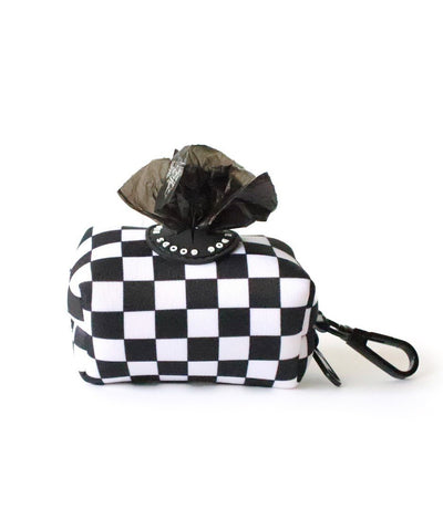 Ripley & Rue Checkered Poop Bag Dispenser Poop Bag Holder Ripley & Rue