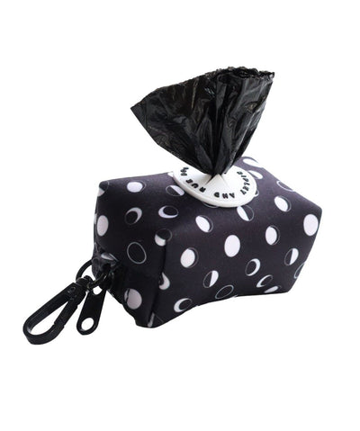 Ripley & Rue Moon Phases Poop Bag Dispenser Poop Bag Holder Ripley & Rue