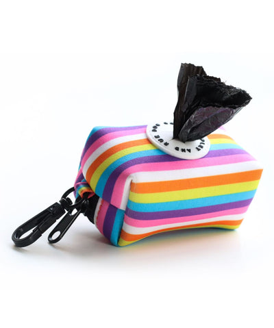 Ripley & Rue Rainbow Remix Poop Bag Dispenser Poop Bag Holder Ripley & Rue