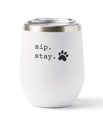 'Sip. Stay' Insulated Tumbler Tumbler Rover