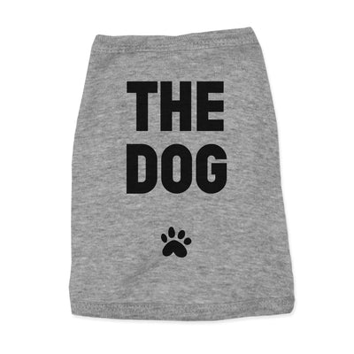 'The Dog' Pet Tank Dog Apparel Printed Mint