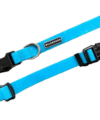 Wilderdog Waterproof Dog Collar Collar Wilderdog Teal Small