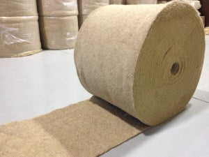 Raw Chanvra: Nonwoven Hemp Matting
