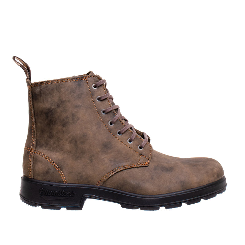 Unisex 1450 Lace-up Series 500 Boot - Rustic Brown