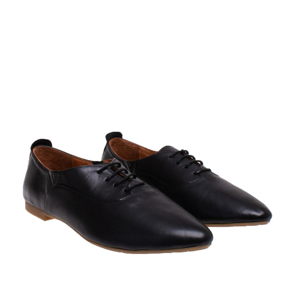 Adler Soft Leather Oxford - Black