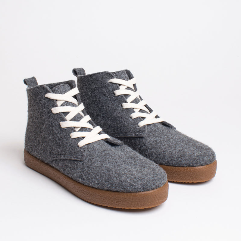 Bennet TWAB Hi-Top Sneaker - Dark Grey