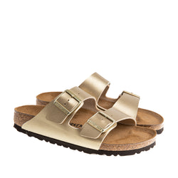 Arizona Birko-Flor Sandal - Metallic Gold