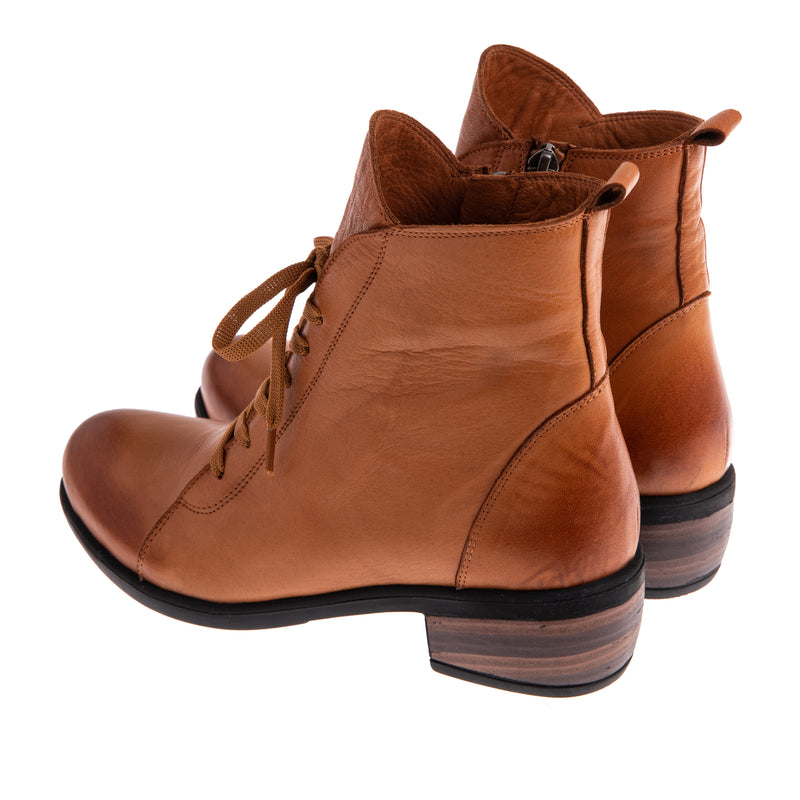 Women's Branton Lace Up Bootie - Tan