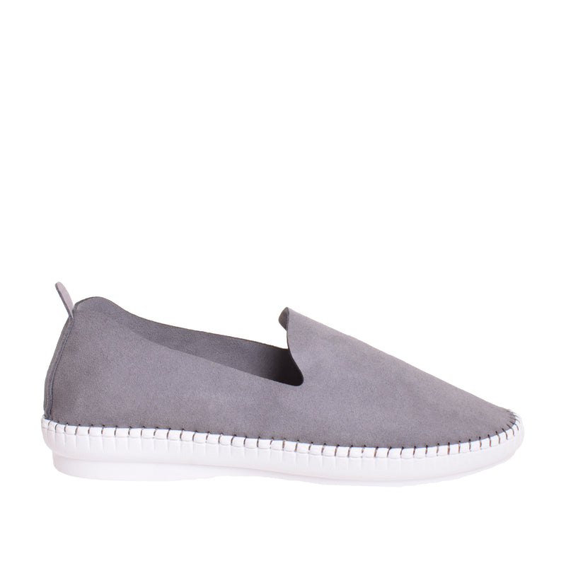 Brighton Slip On Sneaker - Grey - DNAFOOTWEAR