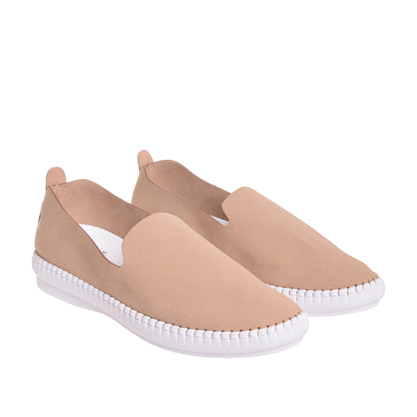Brighton Slip On Sneaker - Tan - DNAFOOTWEAR