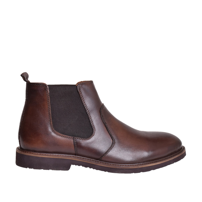 Caiden Chelsea Boot - Whiskey - DNAFOOTWEAR