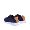 Carroll Jr. Kids Jogger - Navy - DNAFOOTWEAR
